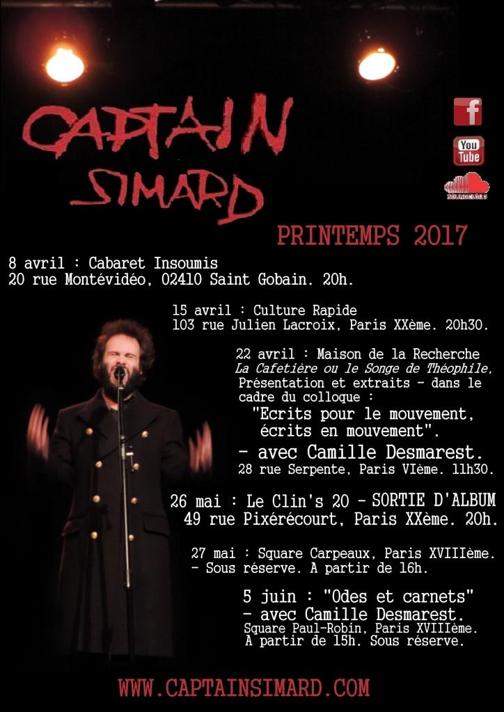 Captain SIMARD printemps dates