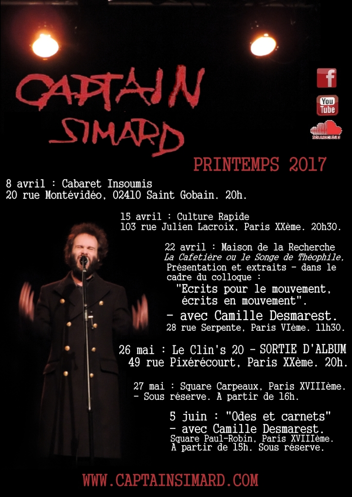 Captain SIMARD printemps dates