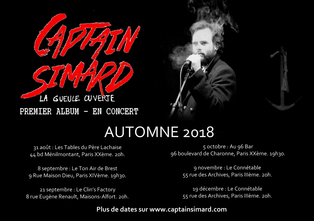 Captain Simard automne 2018
